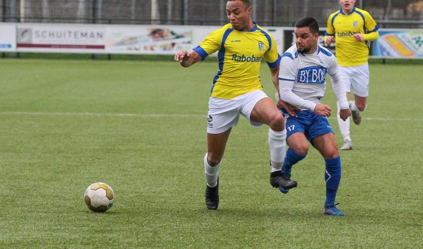 VV Nunspeet speelt in de eerste thuiswedstrijd op 28 september tegen SDVB. (Foto: Melvin Taribuka)