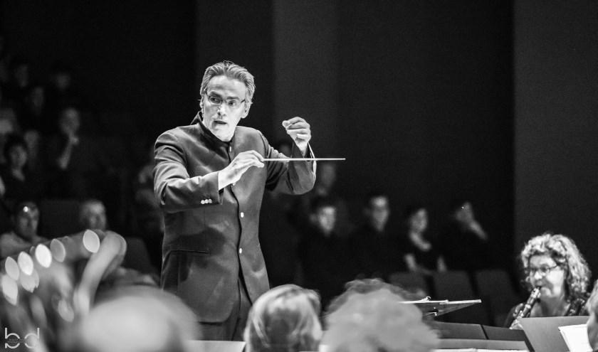 Willem van Zee is de nieuwe dirigent van het Helmonds Muziek Corps.