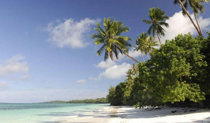 Karakteristiek beeld van de Molukse eilanden. Maakt u volgend jaar zelf deze foto? (Eigen foto)