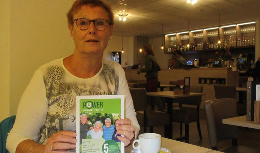 Yvon Schoonderbeek van Gilde Stichtse Vecht. Tekst en foto: Ria van Vredendaal