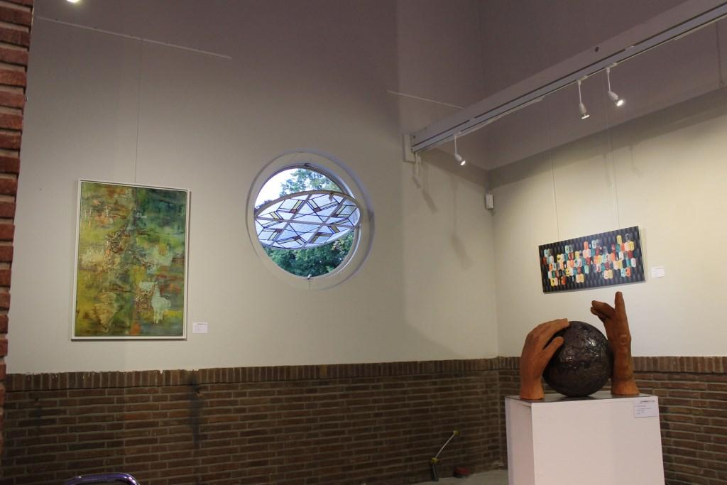 De centrale expositie in de Koppelkerk vond voor de derde keer plaats in de Koppelkerk Bredevoort.  Foto: Leo van der Linde © DPG Media