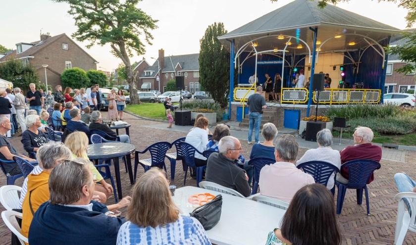 Het concert. (Foto: Izaak van den Berg)