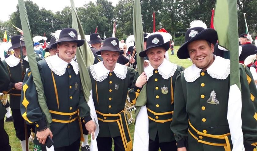Het Sint Hubertus Gilde houdt zaterdag het Bogenbal en feestavond en zondag de Kring Gilde Dag.