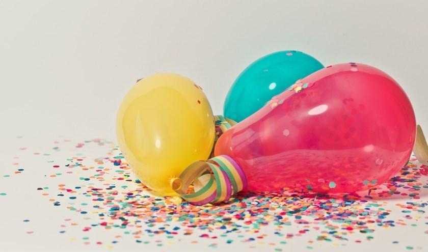 Een feestprogramma. (Foto: Privé)