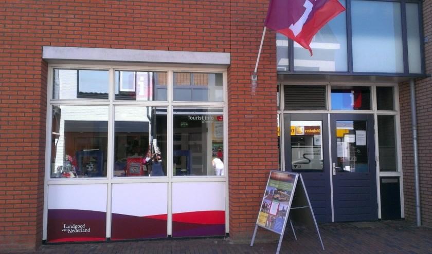 Tourist Info Wierden voordat T.I.W. naar het gemeentehuis verhuisde. Foto: Tourist Info Wierden
