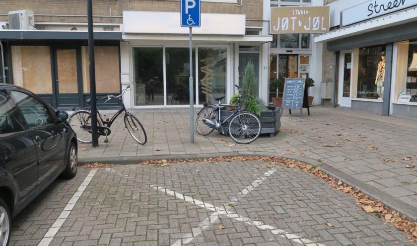 Zonder geldige kaart kan een dergelijke parkeerplaats niet worden gebruikt. (foto GvS)