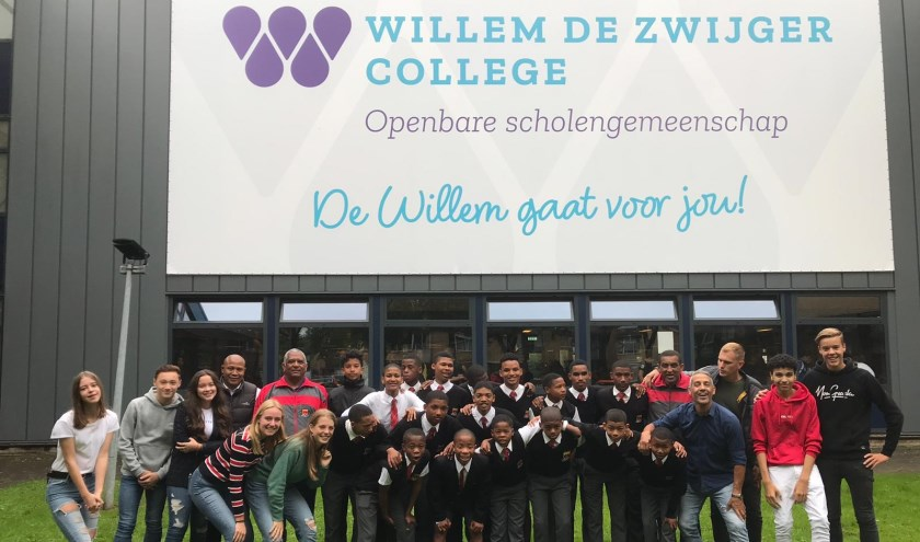 Maandag 23 september kwamen 16 jongeren in de leeftijd van 12 tot en met 16 jaar op de Willem. (Foto: Privé)