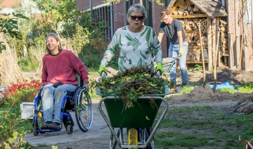 De tuin is voor revalidanten, maar ook voor oud-revalidanten, medewerkers, buurtbewoners en natuurgenieters. (foto: RZ fotografie)
