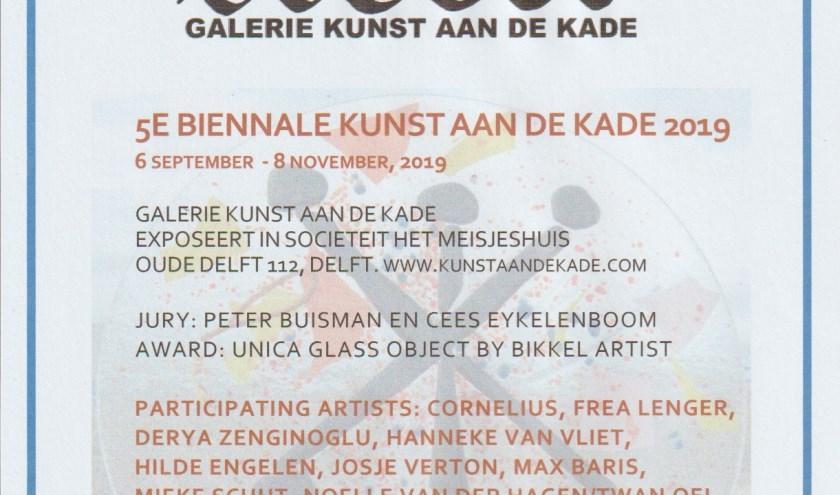 uitnodiging 5e Biennale Kunst aan de Kade 2019