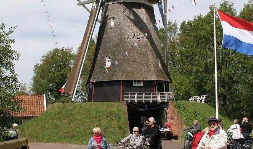 De Westervoldmöll in Tilligte is ook geopend tijdens de Overijsselse Molendag.