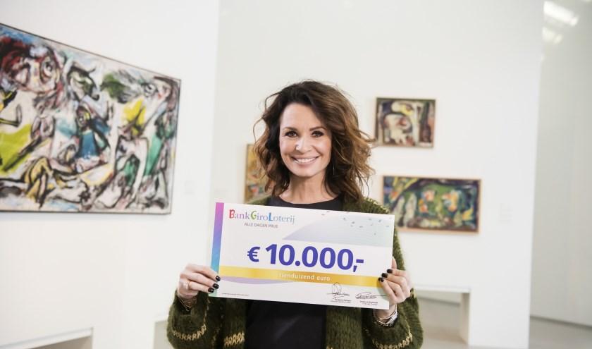 BankGiro Loterij-ambassadeur Leontine Borsato. (Foto: Jurgen Jacob Lodder)