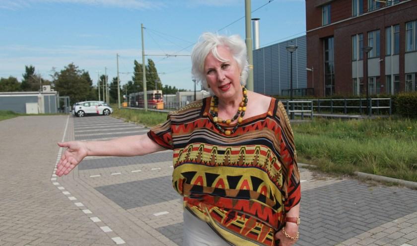 Det Regts wil dat er een P&R komt bij het begin/eindpunt van tram 16/17. (Foto: Peter van Zetten)