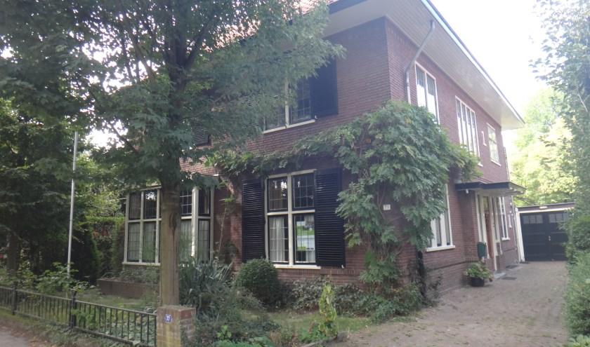 Het door Hans Polak in 1927 gebouwde woonhuis aan Professor Dondersstraat 77, waar zoon Bertram woonde tot in 1940 de oorlog uitbrak.