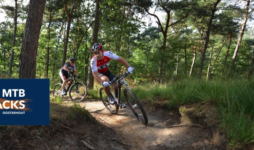 Zie mtbtracksoosterhout.nl voor de actie en voorwaarden.
