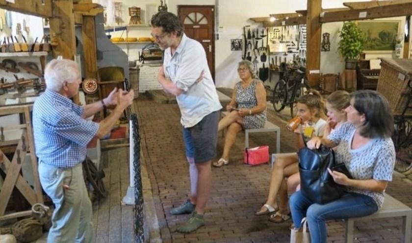 Een geslaagde Belevingsdag bij Museum Vredegoed in Tienhoven. Foto: G. v/d Kraats