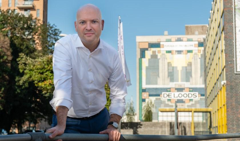 """Wethouder Armand van de Laar: """"Het middengebied van de Plaspoelpolder is uitsluitend voor bedrijfsmatige activiteiten."""" (Foto: Bas Kijzers)"""
