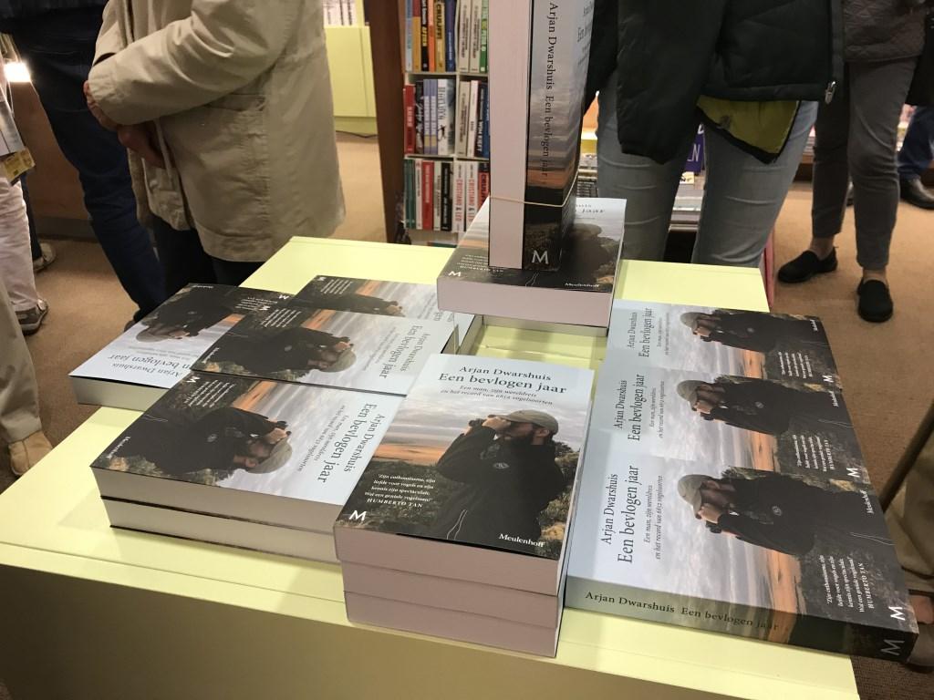 Arjan Dwarshuis - Een bevlogen jaar Foto: Boekhandel van Rietschoten © DPG Media
