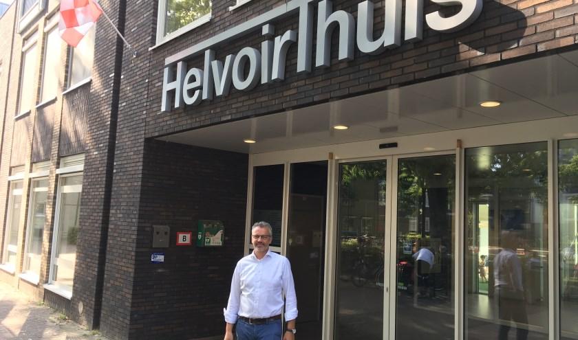 Jan van den Boer, zakelijk leider van het HelvoirThuis, heeft met zijn team de zaken goed op de rails.
