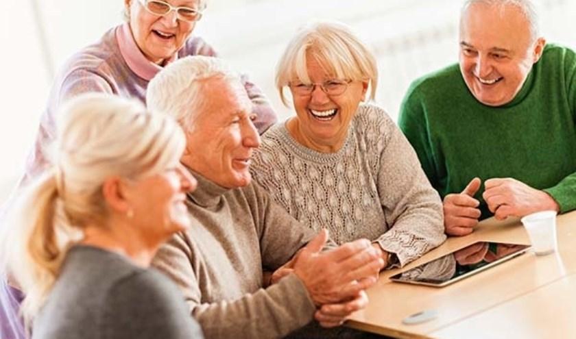 De studiegroep is een andere activiteit binnen het sociaal-maatschappelijke programma van ZINiN BreinReis.