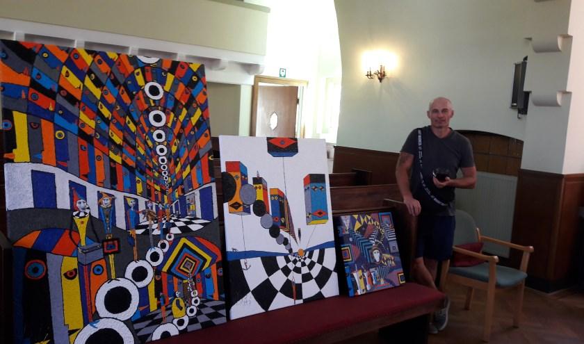 De Poolse kunstenaar DZIKI.