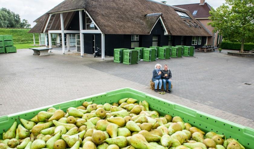 Op 5 oktober vindt bij De Nijensteen in Veessen een Oogstmarkt plaats. Collega's Rieneke Veldman en Arjan van der Velde helpen dan ook mee.