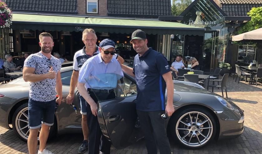 Van links naar rechts: Paul van de Weijer, Tom van Mensvoort, Peter van de Weijer en Marc van de Weijer.
