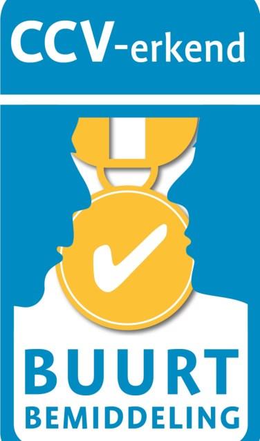 Certificaat erkenning van het project door het Centrum voor Criminaliteit en Veiligheid van het ministerie van Justitie