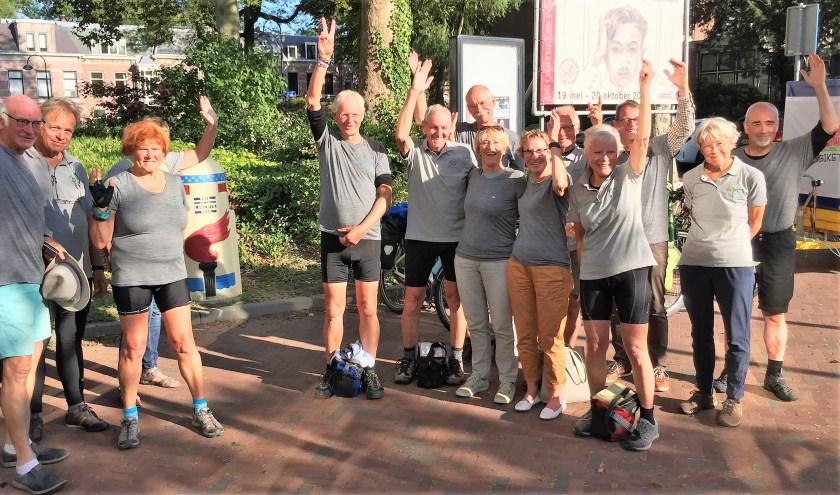 groep fietsers Velopalise