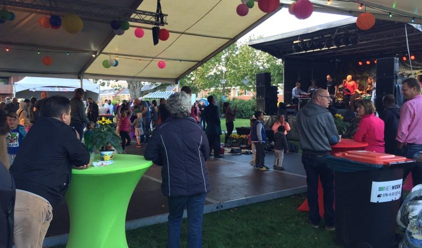 De zevende editie van het Wereldfeest in Papendrecht (foto: Nanda van Heteren