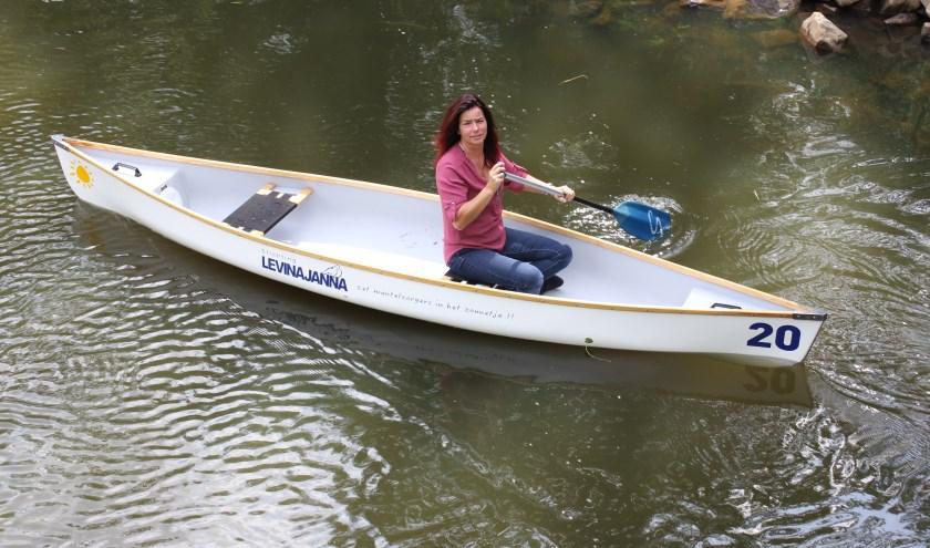 Eten, drinken en met de kano naar Landgoed Seldensate voor Stichting Levina Janna. Foto: Wendy van Lijssel