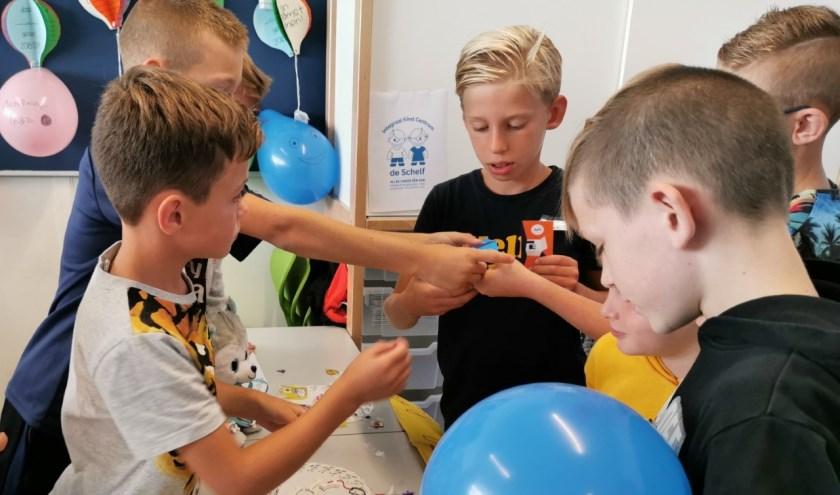 Leerlingen ontdekken de basisbeginselen van het bedrijfsleven en ondernemerschap. (Foto: Privé)