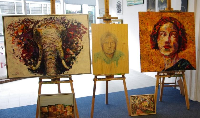 Prijsswinnende schilderijen van de WAS-expo 2019.