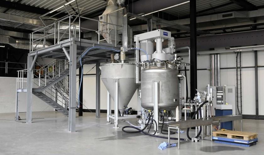 Productielijn voor FISSIC coating