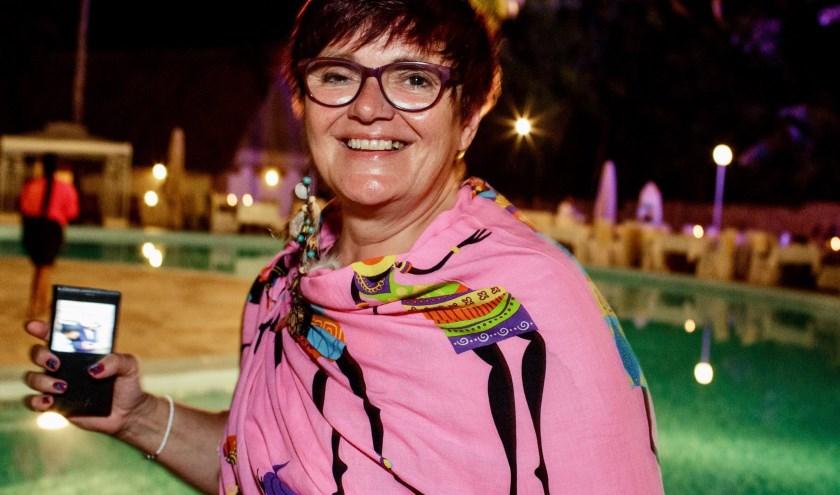 Irene Klein Haneveld neemt op Zotte Zaterdag, 26 oktober afscheid als nachtburgemeester van Gouda. Foto: PR