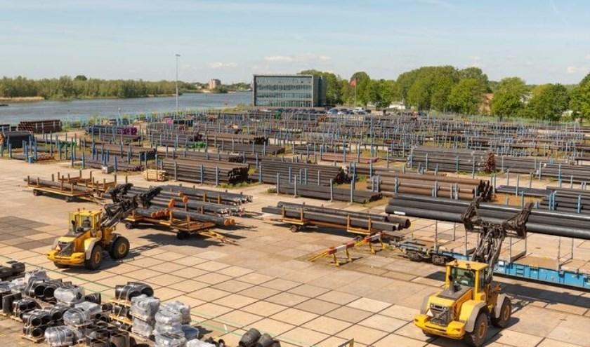 Van Leeuwen stock yard. Foto: Piet Mes.