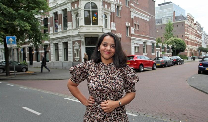 Manasi wilde graag in onze stad haar eigen identiteit ontdekken (Foto: Peter van Zetten)
