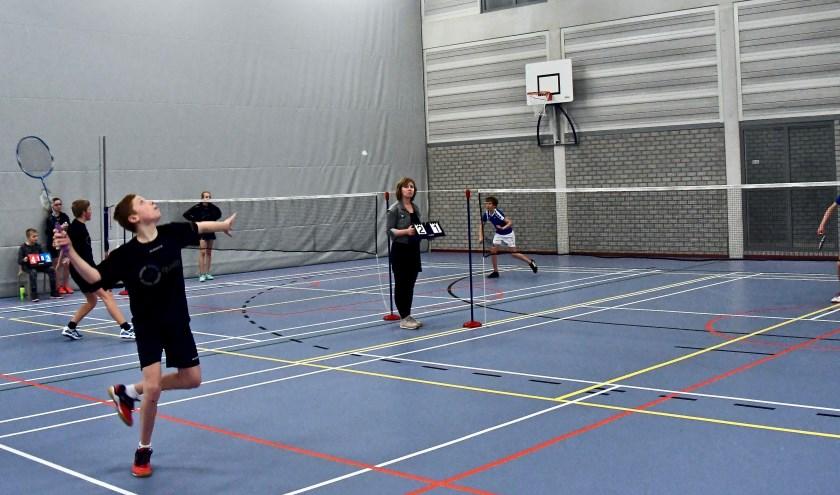 De badmintonjeugd start net als elke andere sport nu in september met de competitie. (Foto: Privé)