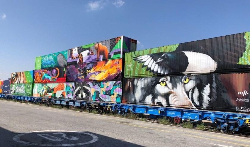 De 'trein van Noach'. Foto: Havenbedrijf Rotterdam.