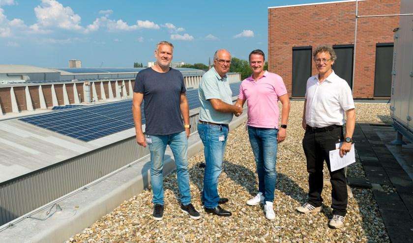 Door de nauwe samenwerking tussen MARIN, medewerkers MARIN en inwoners wekken inmiddels 215 huishoudens duurzame stroom op bij MARIN met 2800 zonnepanelen.