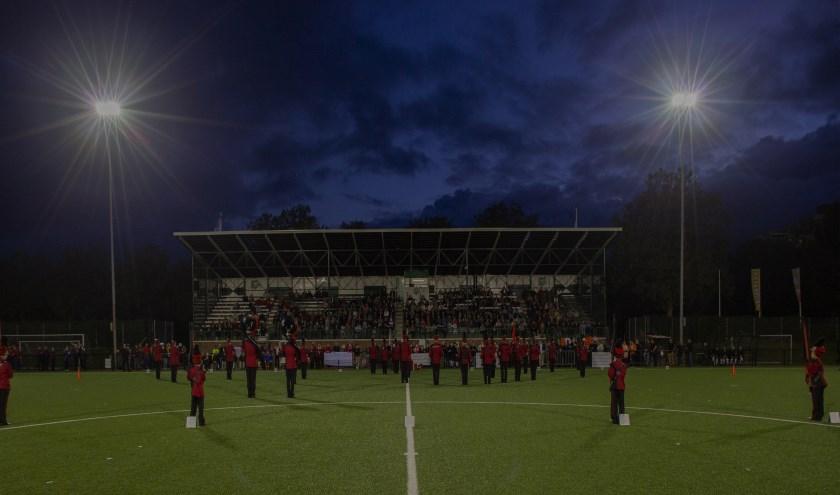Optreden van Concento tijdens de tweede Taptoe Breda.