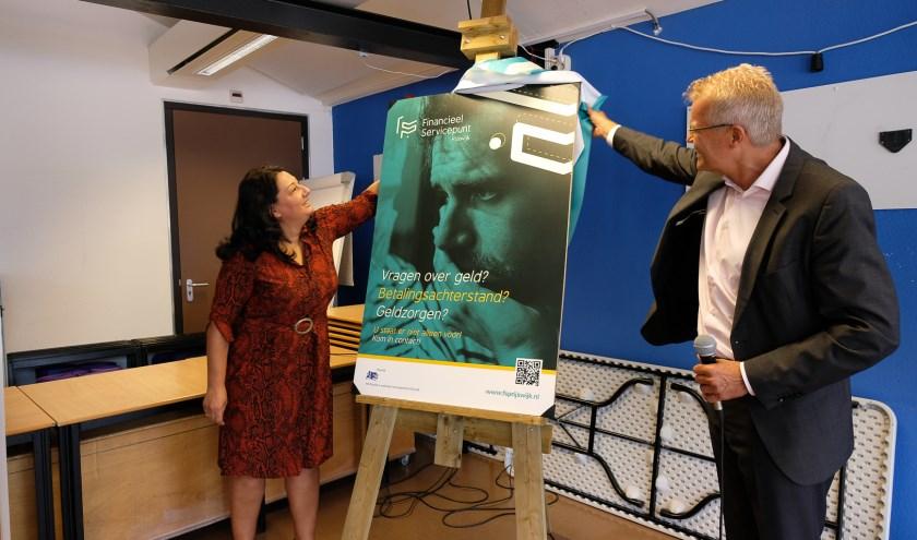 Op 5 september opende wethouder Johanna Besteman het Financieel Servicepunt Rijswijk (FSP).