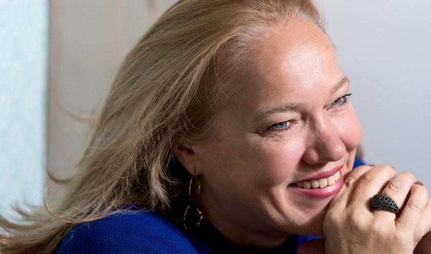 Stadsdichter Larissa Verhoeff.