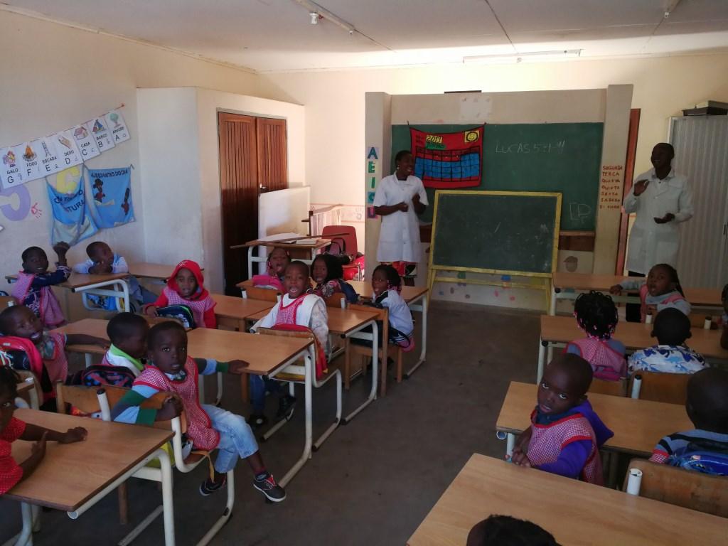 Kleuterschool Novo Robento.  © DPG Media