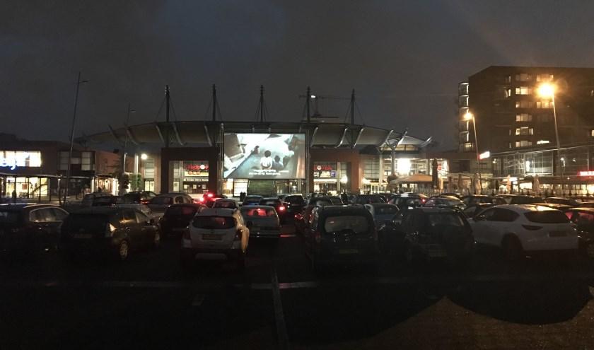 In winkelcentrum In de Bogaard wordt een heuse Drive-In bioscoop gerealiseerd.