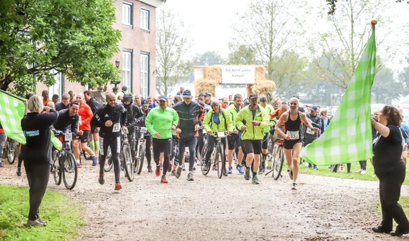 De Raamvallei Duomarathon vindt plaats op zondag 22 september.