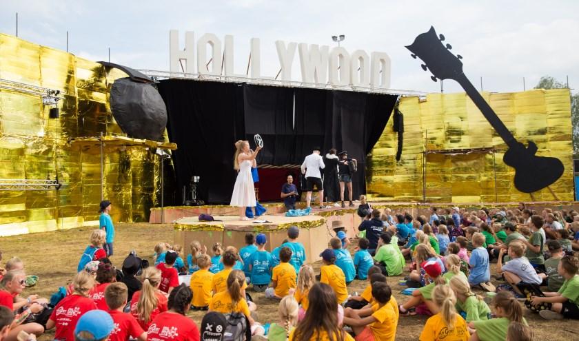 Rond de 950 kinderen bezochten in de laatste week van de zomervakantie het evenement Fantasieland (foto: Jacqueline Imminkhuizen)