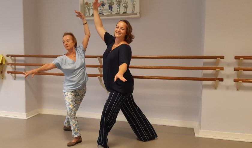 Karin den Os en Marijke de Roo zijn blij met hun nieuwe balletstudio