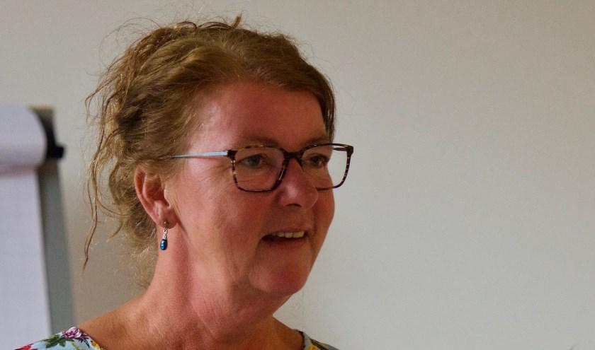 Inez Visser -  afscheid na 12,5 vrijwilliger bij de 'bezoekdienst na partnerverlies' bij de Kap