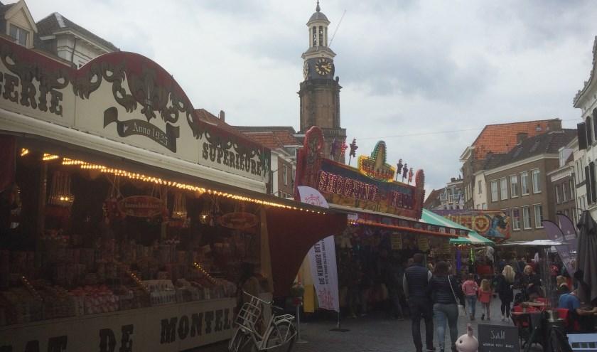 Kermis op Zaadmarkt.