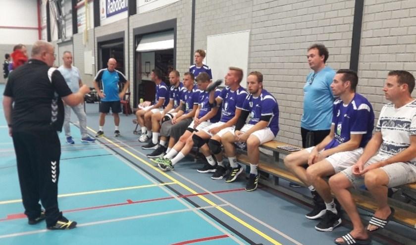 Trainer André de Waal vond dat er naar behoren werd gespeeld (Foto: PR)